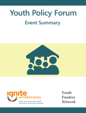 youth policy forum event summary cover